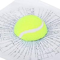 CALISTOUDE Auto Aufkleber Aufkleber, 3D Tennis Ball Hit Window Auto Fahrzeug...