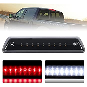 third brake light/reverse light smoked for 2009-2014 ford f150 power saving  waterproof, 2 years warranty