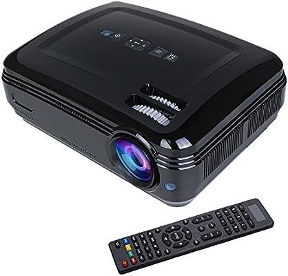 Flylinktech – Proyector 1080p, 3200 lumens 1280 x 768 resolución ...