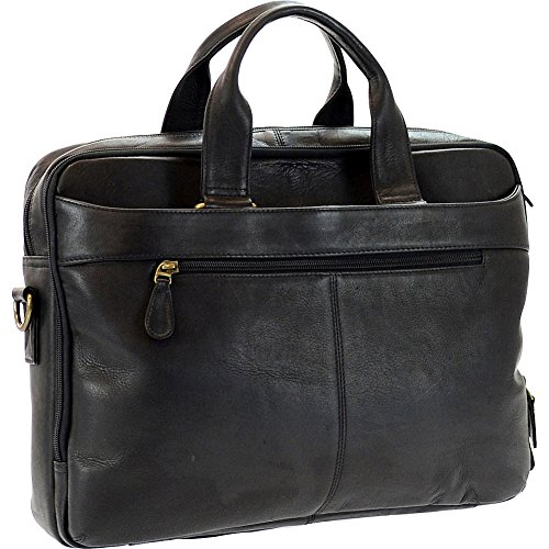 r-r-collections-genuine-leather-briefcase-with-laptop-sleeve-black