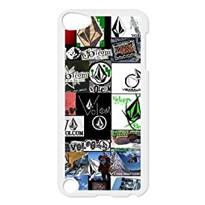 Classic Case Volcom pattern design For Ipod Touch 5 Phone Case