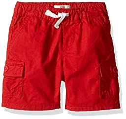 Levi\'s Baby Boys\' Belcrest Cargo Shorts, Pompeian Red, 24M