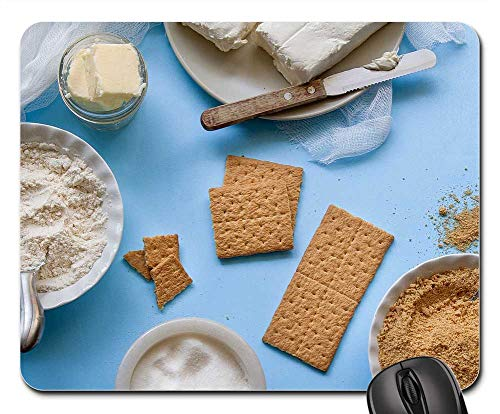 Mouse Pad - Ingredients Butter Cheese Cookies Graham Crackers