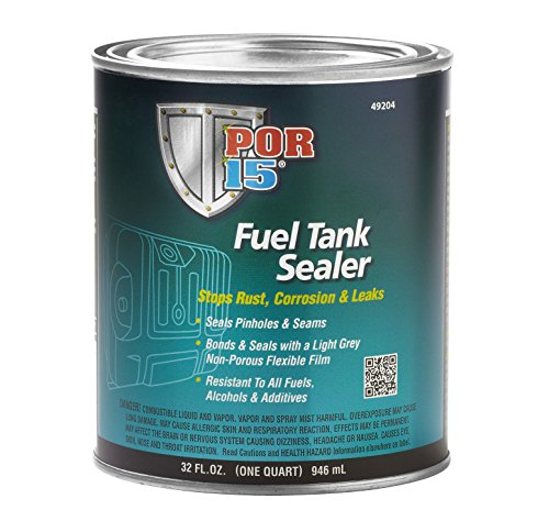 POR-15 49204 Fuel Tank Sealer Metal Sealant, 32. Fluid_Ounces