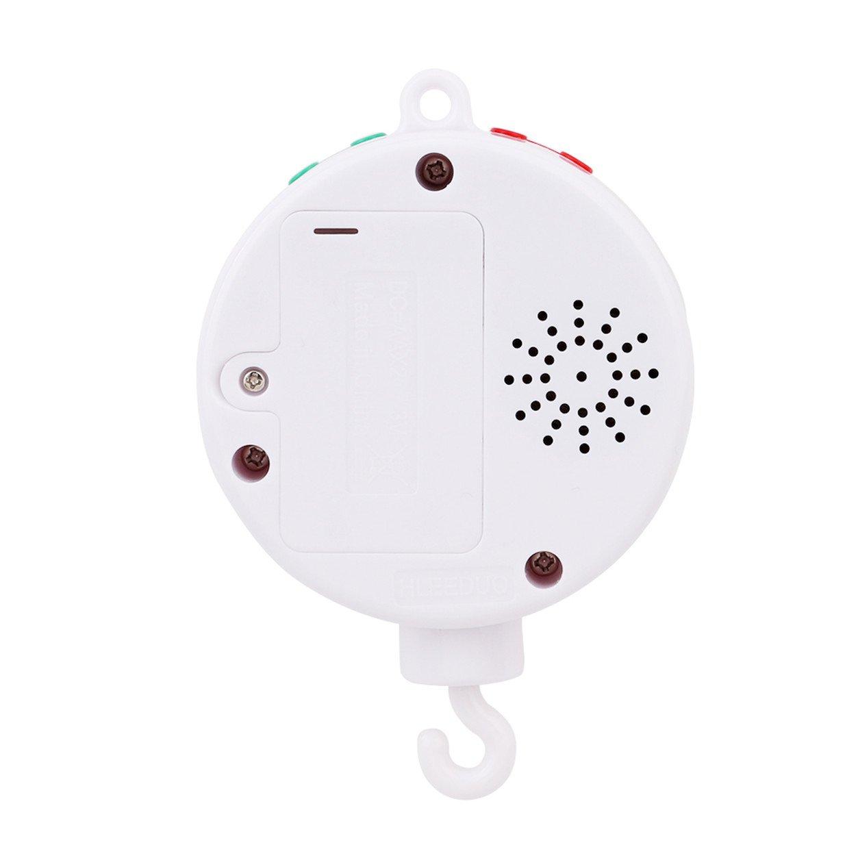 Lalang Bo/îte /à Musique /électrique Mobile pour B/éb/é avec 128M carte micro SD et 12 Chansons