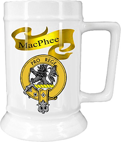Scottish Beer (Scottish Clan MacPhee on New Ceramic Beer Stein)