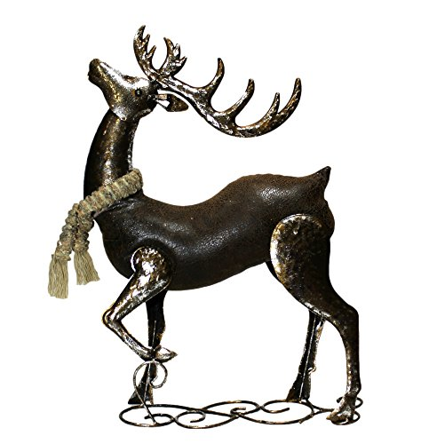Outdoor Lighted Reindeer With Moving Head - 5