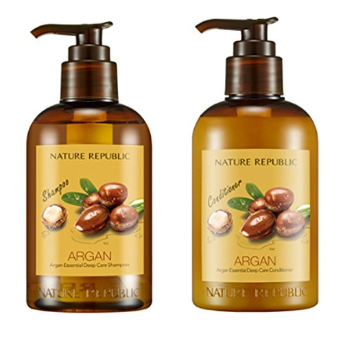 Nature-Republic-Argan-Essential-Deep-Care-Set-6-Shampoo-300-Ml-1-Conditioner-300-Ml-1-Argan-Oil-Moisture-Special-Hair-Care