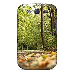 Fashion Tpu Case For Galaxy S3- Seasons Autumn Scene In Germany Backgrounds Defender Case Cover