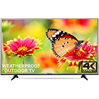 Outdoor TV 65 Fully Weatherproof Ultra HD 4K Smart All Weather LED Television - by Sealoc
