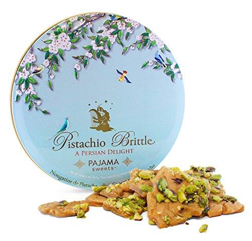 Pistachio Brittle: A Persian Delight, one pound