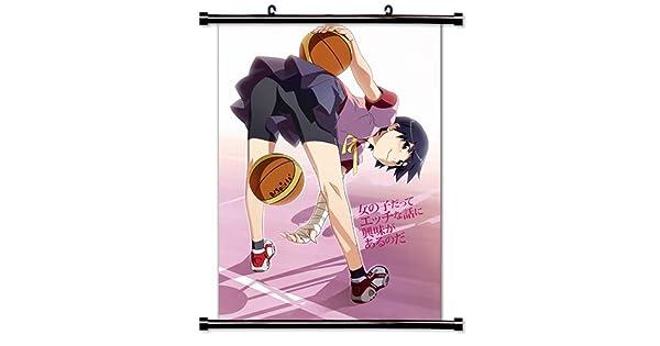 Amazon.com: Bakemonogatari Anime Póster de tela para pared ...