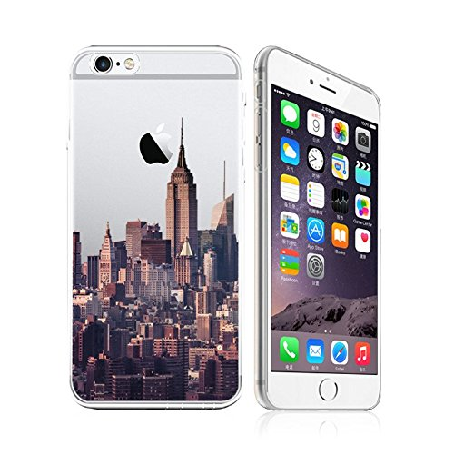 half off 22801 189ff IPhone 6 / 6S, New York City Skyline NYC Ultra Slim Silicone Phone Case  Back Cover