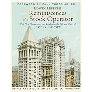 Reminiscences of a Stock Operator [Audiobook] [Abridged] (Audio CD) -Edwin Lefevre-