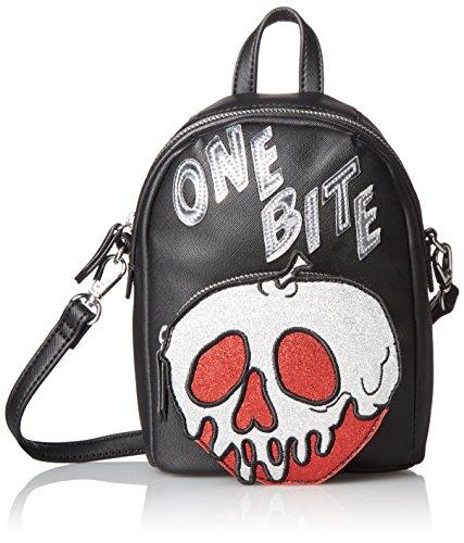 Disney by Danielle Nicole One Bite Crossbody, Black (Snow White Handbag)