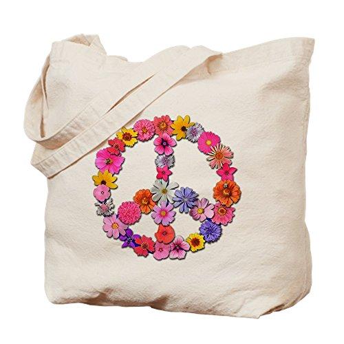 CafePress–floralpeace. PNG–Gamuza de bolsa de lona bolsa, bolsa de la compra Medium caqui