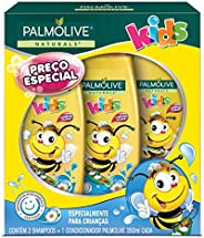 Shampoo e Condicionador Palmolive Naturals Kids Todo Tipo de Cabelo 350ml Promo Leve 2 Shampoos + 1 Condiciona