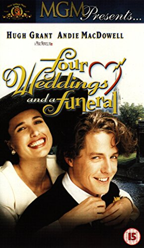 Four Weddings And A Funeral VIDEO CD DVD