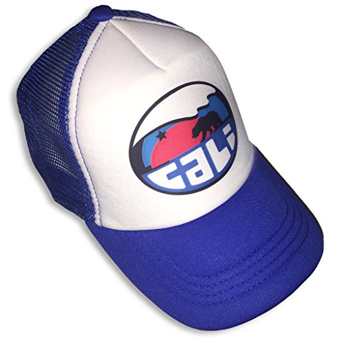 Sol Baby Cali Mountain Wave Infant/Toddler Trucker Hat Royal-M-Blue