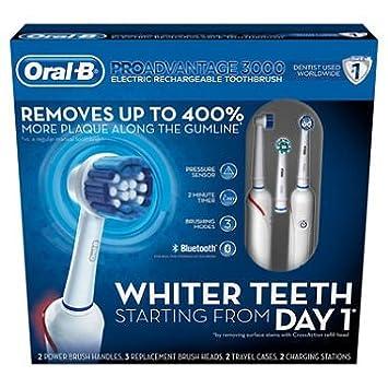 Amazon.com: Oral-B proadvantage 3000 recargable cepillo para ...