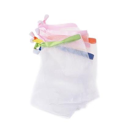 Yanhonin - 10 bolsas de jabón, red de burbujas, cuidado de ...