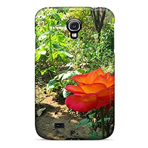 New ColorCases Super Strong Glossy Rose Tpu Case Cover For Galaxy S4