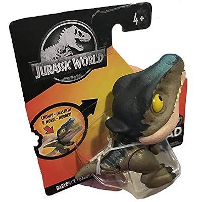 Jurassic World Dinosaurs Snap Squad Baryonyx 2.5 Inch Figure: Toys & Games