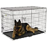 Go Pet Club MLD-30 30-Inch Metal Dog Crate with Divider