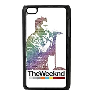 HUS26086 Custom Cover Case with The Weeknd for Ipod Touch 4 at Hushell
