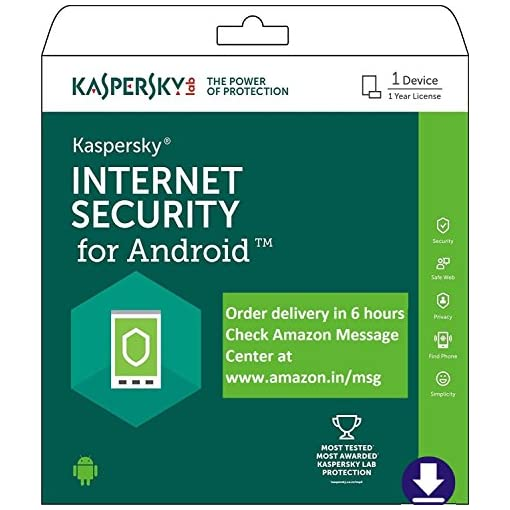 Kaspersky IS For Android - 1 Device 1 Yr (Email Delivery - No CD)