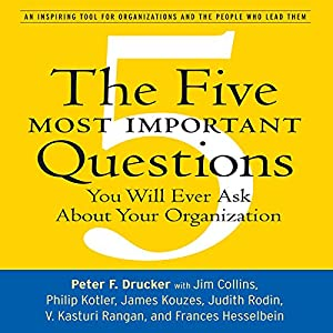 The Five Most Important Questions Hörbuch