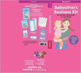 Babysitters business kit american girl american girl library flip to back flip to front reheart Gallery