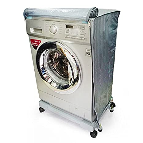 Aditya Accessories Front Loading 5 6.5 kg Washing Machine Cover  Grey