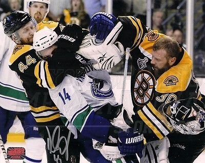 check out 65717 a24be Amazon.com: Dennis Seidenberg Boston Bruins Signed 8x10 Tim ...