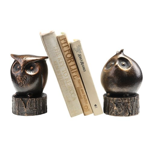 Wide Eyed Owl Bookends