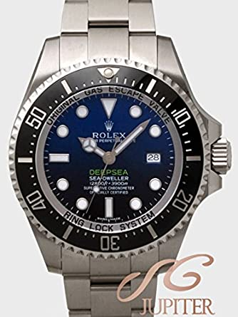 the latest 374dc 277a0 Amazon | ROLEX ロレックス SEADWELLER DEEP-SEA D-BLUE ...