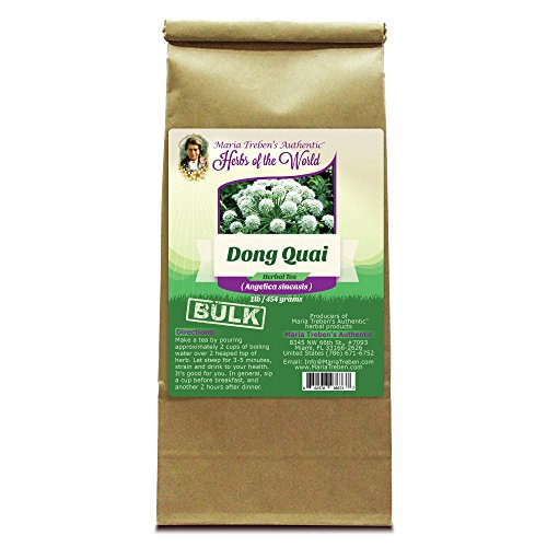 Dong Quai Root (Angelica sinensis) 1lb/454g BULK Herbal Tea - Maria Treben's Authentic™ Herbs of the (Empress China Japan)
