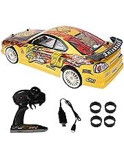 Raceauto met afstandsbediening, 2,4 GHz 4 WD elektrische auto RC auto RC Drift vrachtwagen op afstand bestuurd autospeelgoed voor jongens en meisjes, cadeau voor volwassenen en kinderen