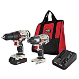 PORTER-CABLE PCCK604LA 20V Max Lithium Ion Cordless 2-Tool Combo Kit