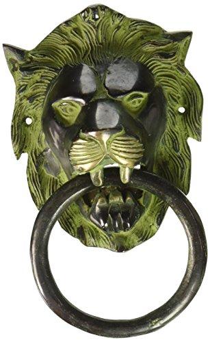 Lion Design Attractive Door Knocker Brass Wall Décor Indian Ethnic Sculpture