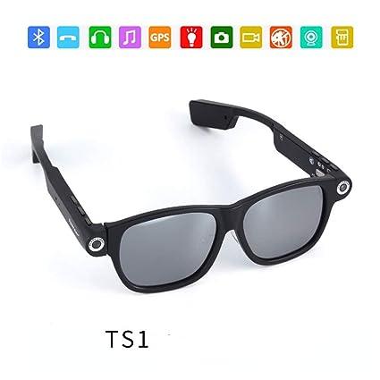 8f3120b310 RENYAYA Grabación de vídeo Gafas de Sol espía cámara Inteligente de  Disparos 720P Deportes al Aire
