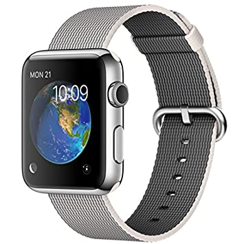 "Apple Watch Reloj Inteligente Acero Inoxidable OLED 3,81 cm (1.5"") -"