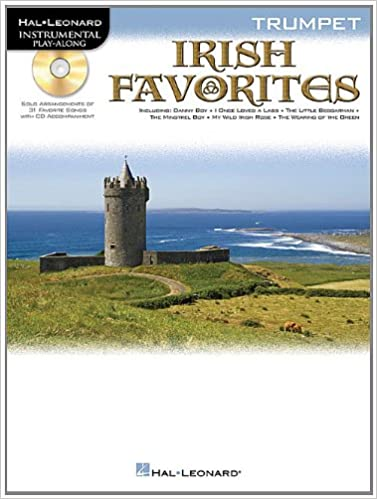 Irish Favorites for Trumpet Book and Cd
