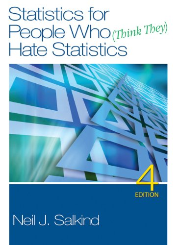 Statistics for People Who (Think They) Hate Statistics + PSAW Statistics Student Version 18