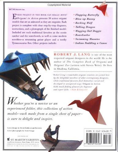Origami In Action | Robert J. Lang | Macmillan | 500x386
