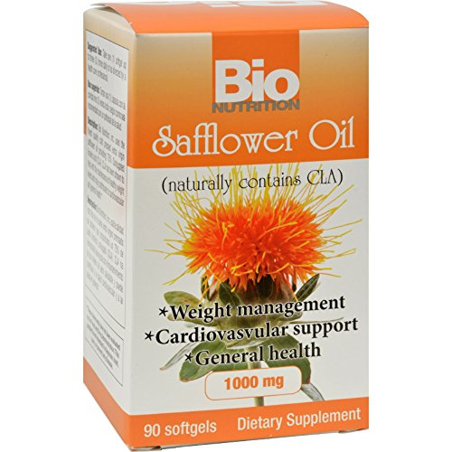 Bio Nutrition Safflower Oil - 90 Softgels (Pack of 2)