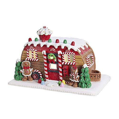Adler Gingerbread Kurt - Kurt Adler Kurt S. Adler 6-Inch Gingerbread Camper House Table Piece, Multi