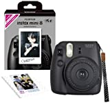Fujifilm Mini 8 Instant Camera (Base, Black)