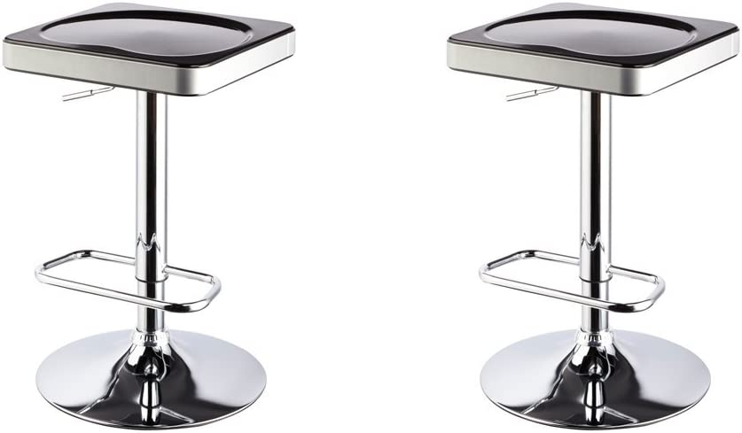 Flash Furniture 24 High Clear Coated Indoor Counter Height Stool with Back