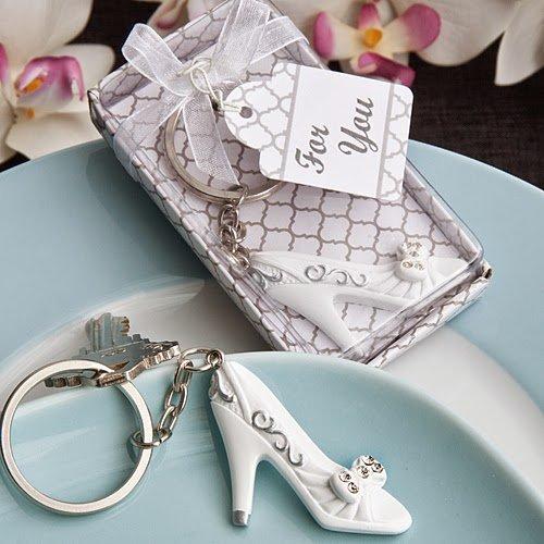 100 Cinderella's Slipper Keychains